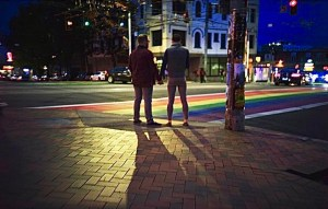 capitol hill, seattle capitol hill, rainbow sidewalk, lgbtq, lgbt, lgbtq+, lgbtqa+, cap hill, capital hill, seattle wa, seattle gay nightlife, covid-19 capitol hill