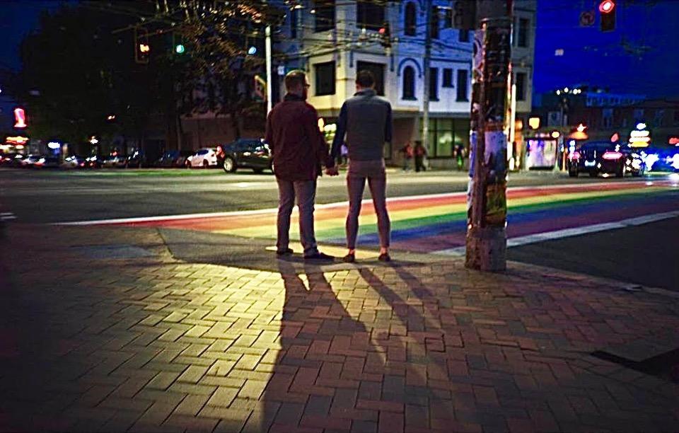 capitol hill, seattle capitol hill, rainbow sidewalk, lgbtq, lgbt, lgbtq+, lgbtqa+, cap hill, capital hill, seattle wa, seattle gay nightlife, covid-19 capitol hill