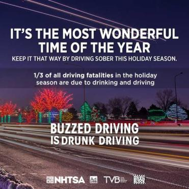 nhtsa, dui, drinking and driving, holiday dui