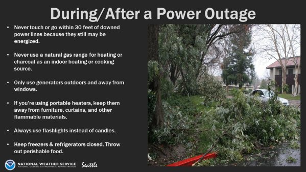 power outage, power outage graphic, flooding, wind storm,