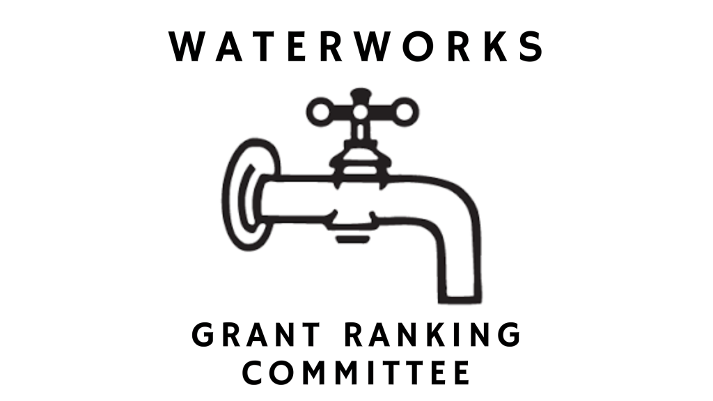 king county, king county council, waterworks grant ranking committee, king county committee