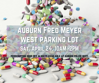 Auburn DEA drug take back graphic