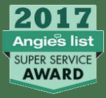 Angie's List 2017 Super Service Award