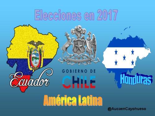 Antesala de elecciones en #América Latina para 2018