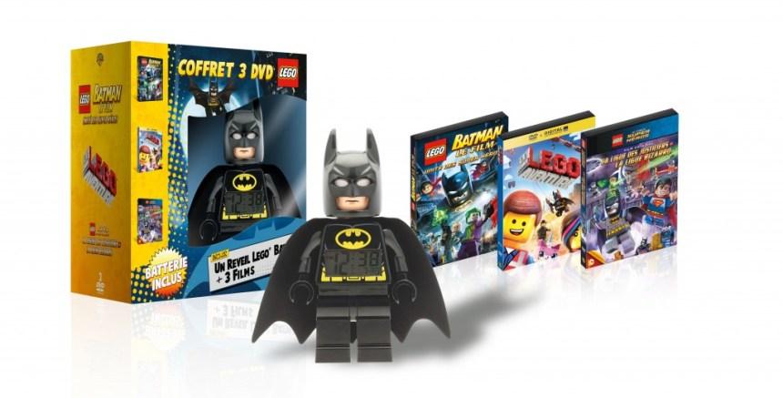 COFFRET LEGO + REVEIL LEGO BATMAN