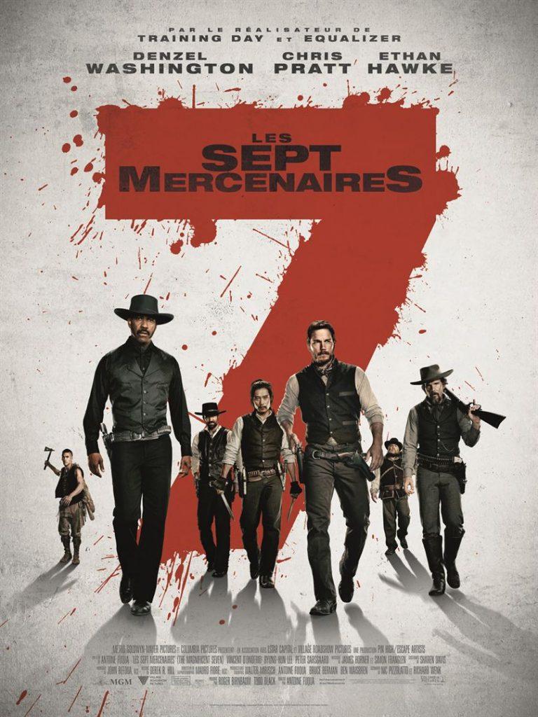 Date de sortie: 28 septembre 2016 De: Antoine Fuqua Avec: Denzel Washington, Chris Pratt, Ethan Hawke.. Genres: Western, Action, Aventure Durée: 2h 13min