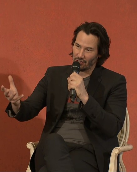 John Wick 2 press conference Keanu Reeves photo 10