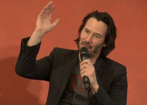 John Wick 2 press conference Keanu Reeves photo 13