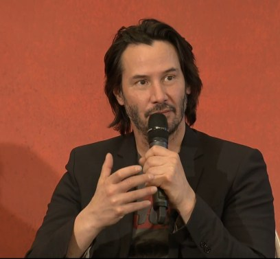 John Wick 2 press conference Keanu Reeves photo 15