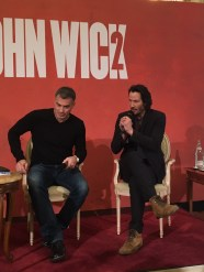 John Wick 2 press conference Keanu Reeves photo 5
