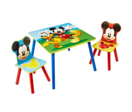 Table et chaises Mickey