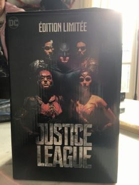 Justice League Coffret FNAC packaging