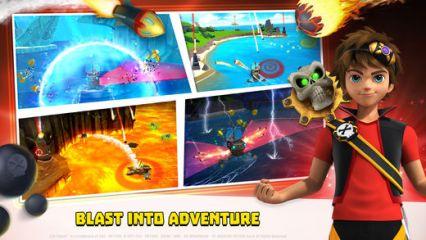 Zak Storm jeu application