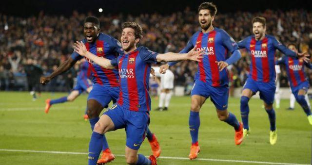 Défaite du PSG contre le Barça