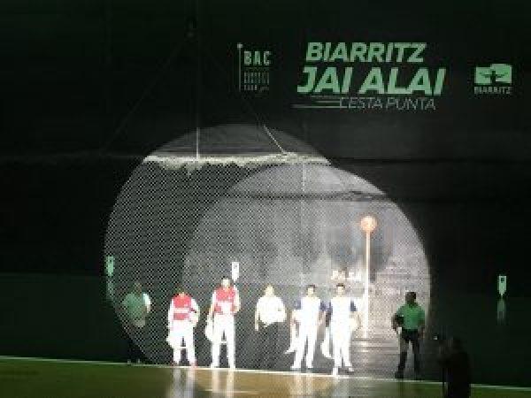 présentation des équipes demi finale gant d'or biarritz