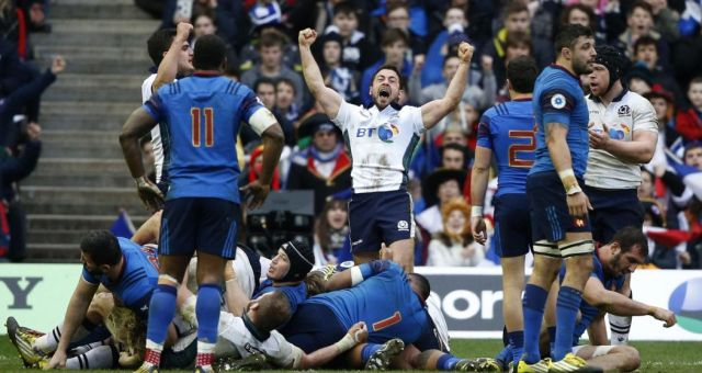 france ecosse rugby tournoi 2018
