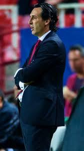 unai emery coach psg