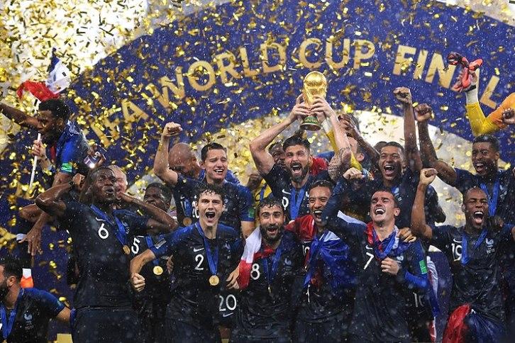 France champion du monde 2018