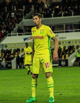 Emiliano Sala attaquant Nantes