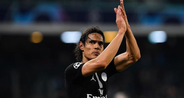 Edinson Cavani PSG Paris