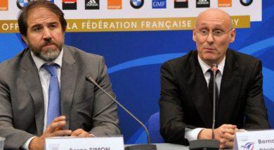 Bernard Laporte Serge Simon FFR Fédération rugby