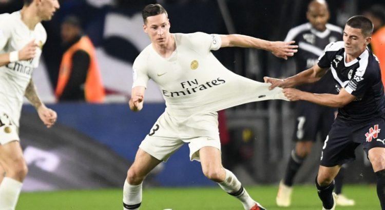 PSG Bordeaux premier match nul
