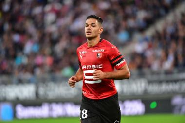 Hatem Ben Arfa Rennes ex OL Lyon