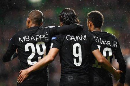 La MCN a dynamité Guingamp : 3 buts pour Mbappé et Cavani, 2 buts pour Neymar