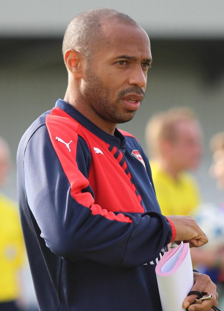 Thierry Henry suspendu de ses fonctions d'entraîneur de l'AS Monaco
