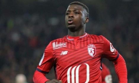 Ligue 1 30ème journée : Nicolas Pépé, l'attaquant de Lille, a encore été décisif dans la victoire nordiste à Nantes