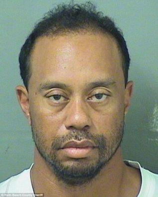 Tiger Woods arrêté en mai 2017 et alors sous forte emprise médicamenteuse