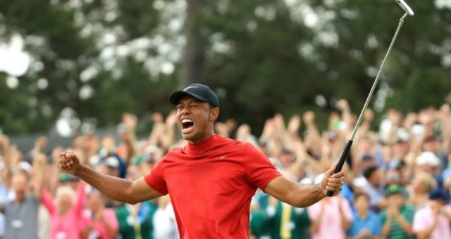 Golf : Tiger Woods remporte le Masters et signe un éclatant come-back