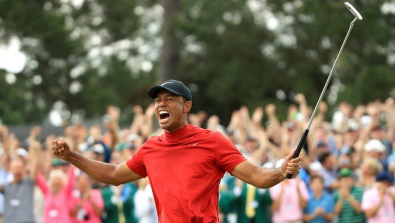 Golf : Tiger Woods remporte le Masters et signe un éclatant come-back