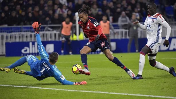 Ligue 1 35ème journée : Loïc Rémy a inscrit un but important pour Lille hier à Lyon, permettant aux Nordistes de conforter leur 2ème place
