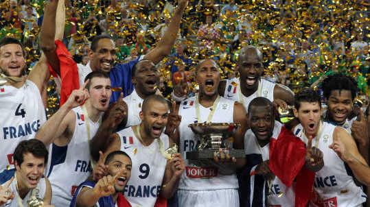 Basket : Tony Parker a mené l'Equipe de France en 2013 à son premier titre de champion d'Europe chez les hommes
