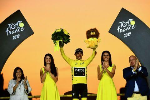Tour de France 2019 : le Colombien Egan Bernal remporte son premier Tour à tout juste 22 ans.
