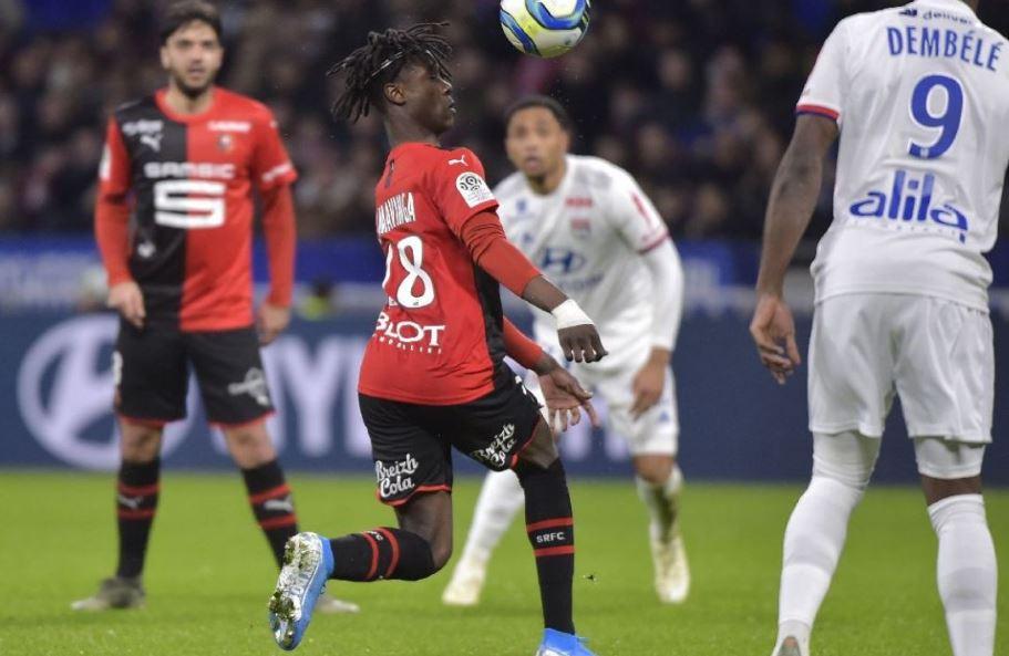 Ligue 1 18ème journée : Rennes et sa pépite Eduardo Camavinga se sont imposés à Lyon