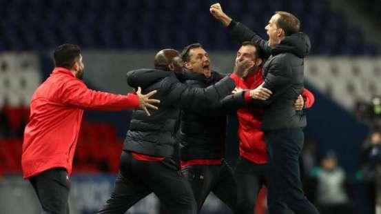 PSG-Dortmund : en échec au match aller, Thomas Tuchel est revenu avec succès au 4-4-2 pour aller chercher la qualification en quarts de finale