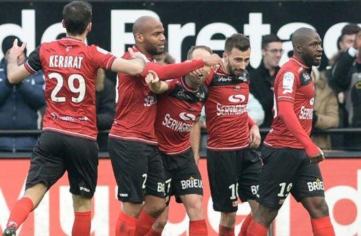 Guingamp, 7000 habitants, évoluait encore en Ligue 1 la saison passée