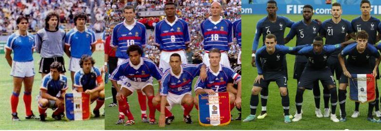 Equipe de France 1980-2020 : élisez votre Dream Team en Bleu