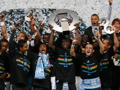 Olympique de Marseille : le dernier sacre en Ligue 1 de l'OM date de la saison 2009-2010