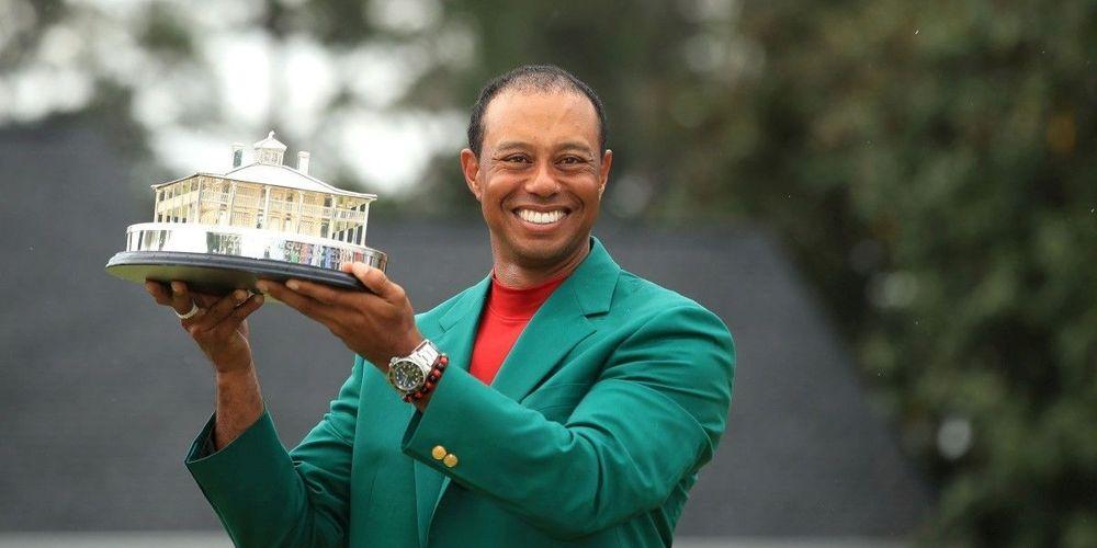 Tiger Woods, vainqueur du Masters d'Augusta en 2019