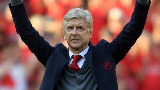 Arsène Wenger a fait ses adieux aux supporters d'Arsenal le 13 mai 2018, après 22 saisons aux manettes du club londonien