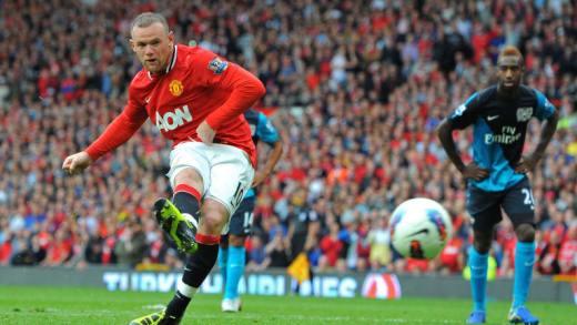 Wayne Rooney a inscrit 253 buts sous les couleurs de Manchester United