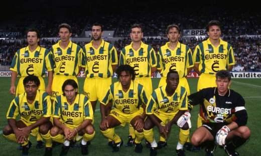 Le FC Nantes, en grave difficulté financière au début des années 1990, avait su se tourner avec succès vers sa formation pour retrouver les sommets