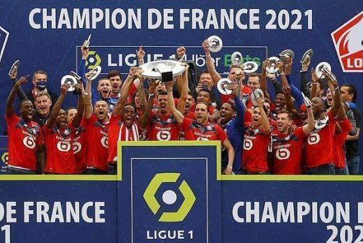 Les Lillois de Christophe Galtier sont devenus champions de France pour la 4ème fois de leur histoire.