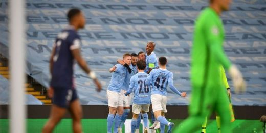 Emmené par un Riyad Mahrez de gala, Manchester City a logiquement éliminé le PSG de la Ligue des Champions.