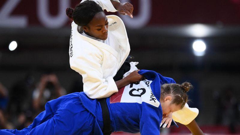 Clarisse Agbegnenou a décroché la médaille d'or en -63kg.