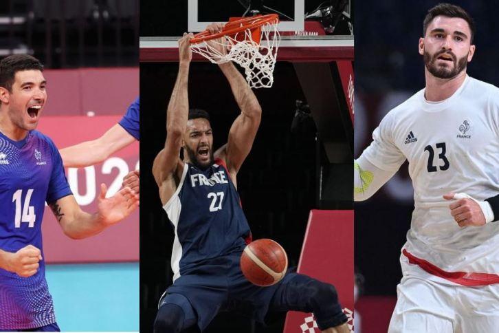 Les Equipes de France de handball, de basket et de volley ont signé une qualification historique pour la finale des JO