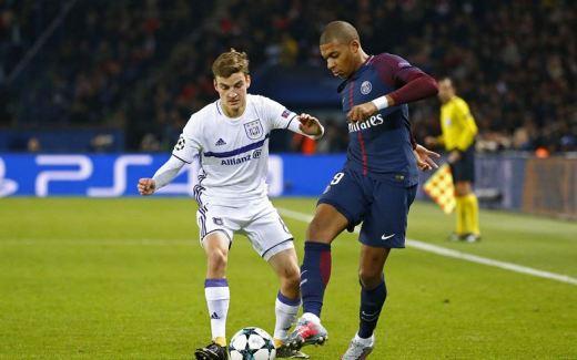 Kylian Mbappé a signé un doublé sur la pelouse de Reims.